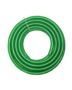 1/2 Inch High Pressure PVC Hose Water Pipe for Gardening (Color:-Green|Size:- 1/2 Inch (12.7 mm)|Length:-30 Meter)