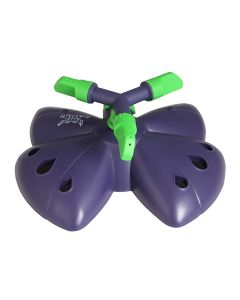 Butter Fly Pattern Garden Water Sprinkler with 3 Arm 360 Degree Rotating