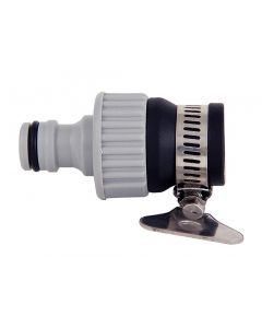 Faucet Water Pipe Tap Connector Female Threaded Adaptor Garden Water Hose Quick Connector 1/2 & 3/4 inch for Garden Hose Pipe Fitting