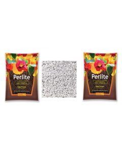 Perlite and Vermiculite Growing Media for Organic Gardening Pack 2