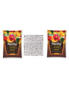 Perlite and Vermiculite Growing Media for Organic Gardening Pack 2
